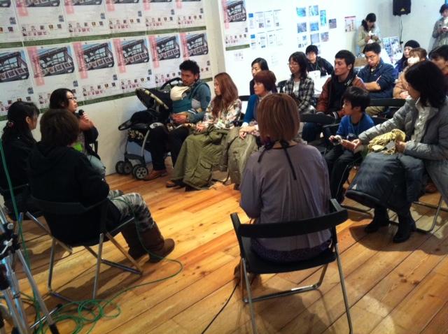 ふんばろう東日本復興展トークショー