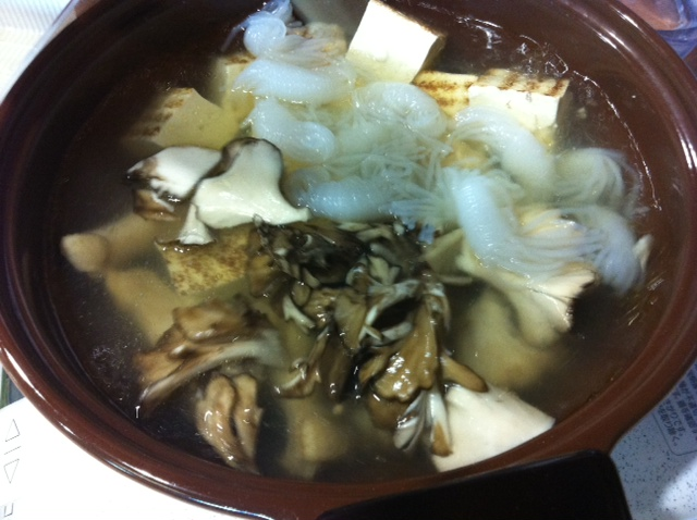 鍋でウォームビス★究極の水炊き★