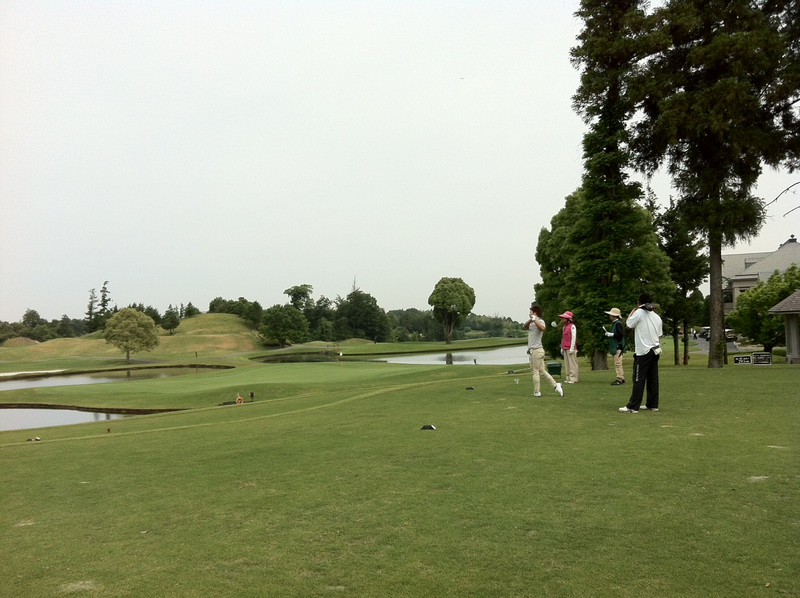 今日はゴルフ★