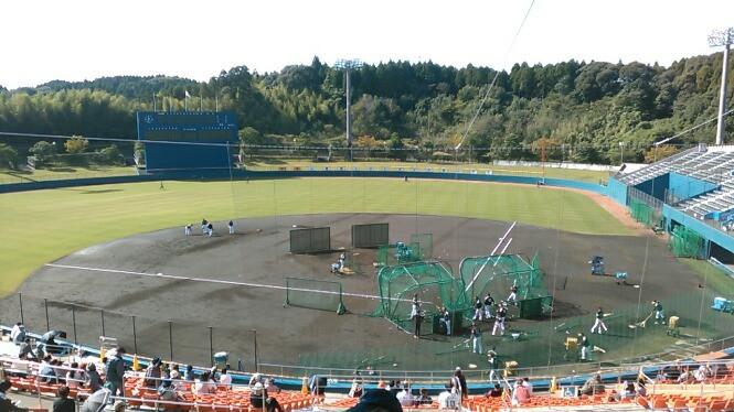 宮崎 秋のホークスキャンプ
