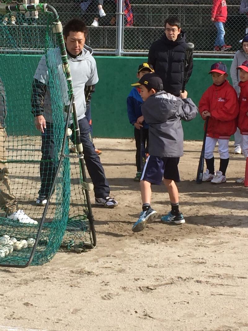ひびしん親子で楽しむ野球教室