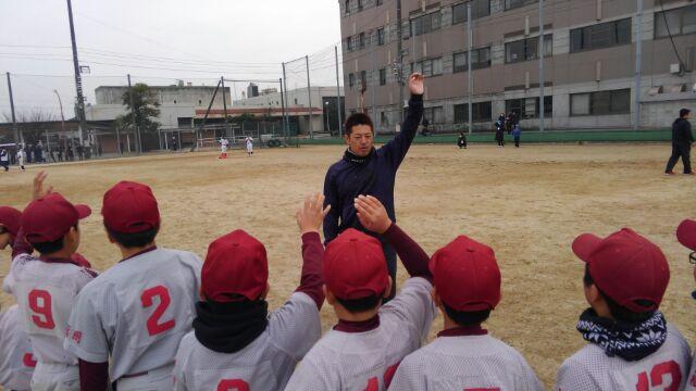 野球教室⚾️