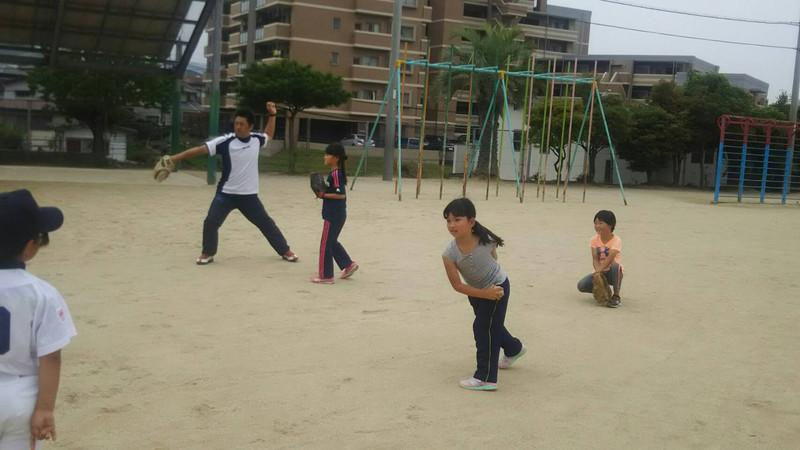 親子で楽しむひびしん野球教室