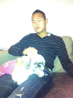 Tesse_with_dog